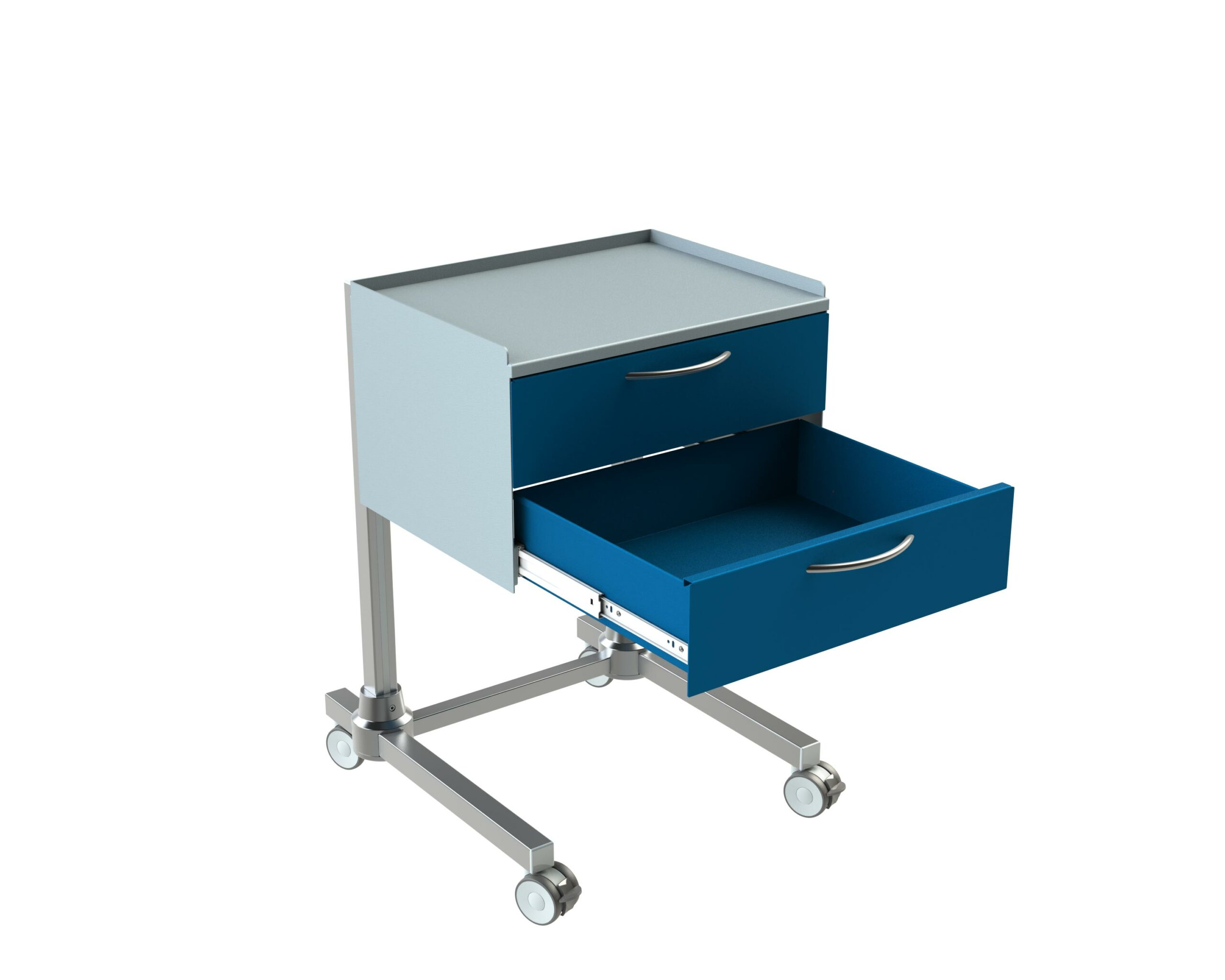 Hygienestation-Henry-2-Schubladen-Arbeitsplatte-Reling