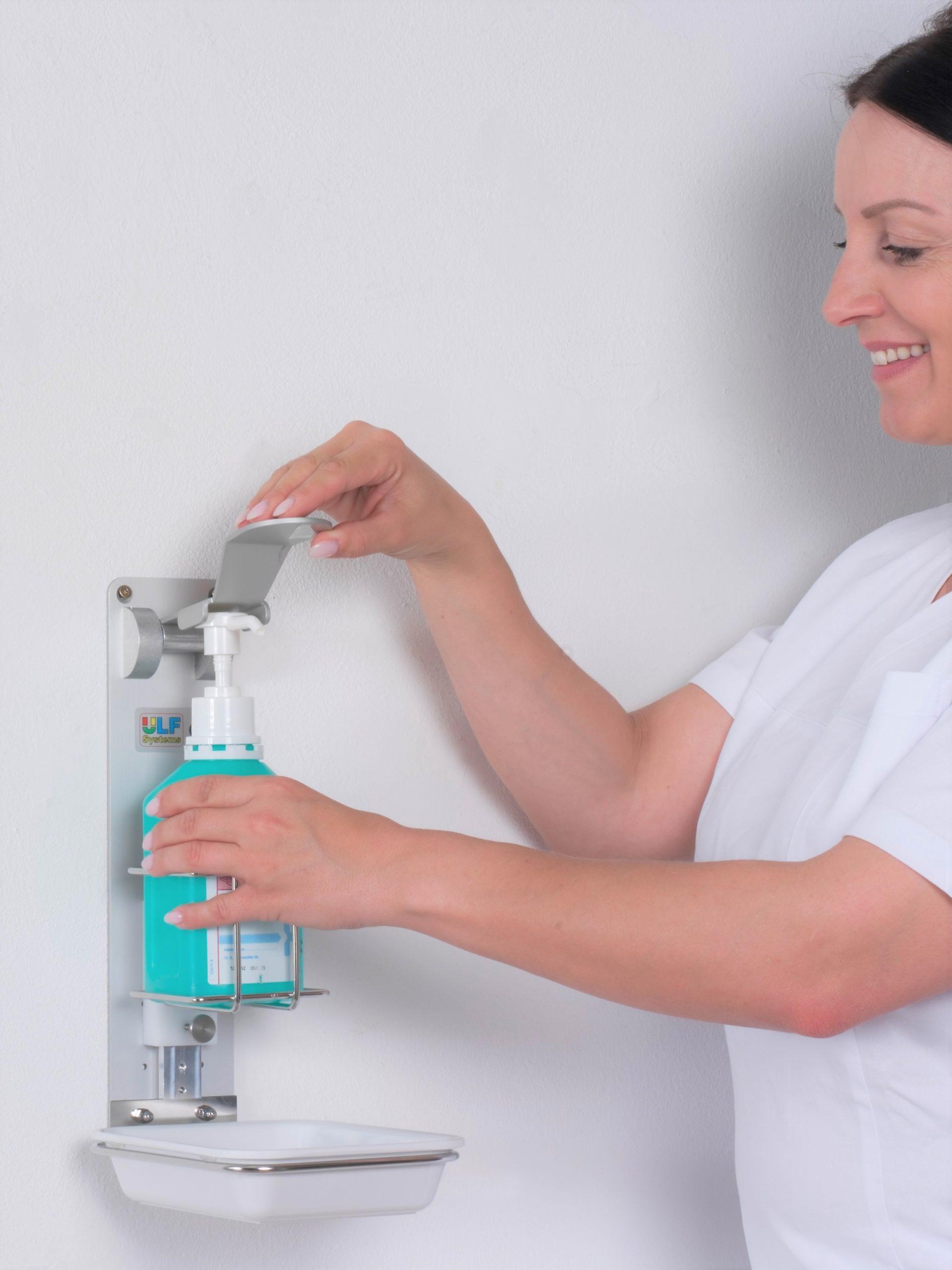 desinfektionsmittelspender-ute