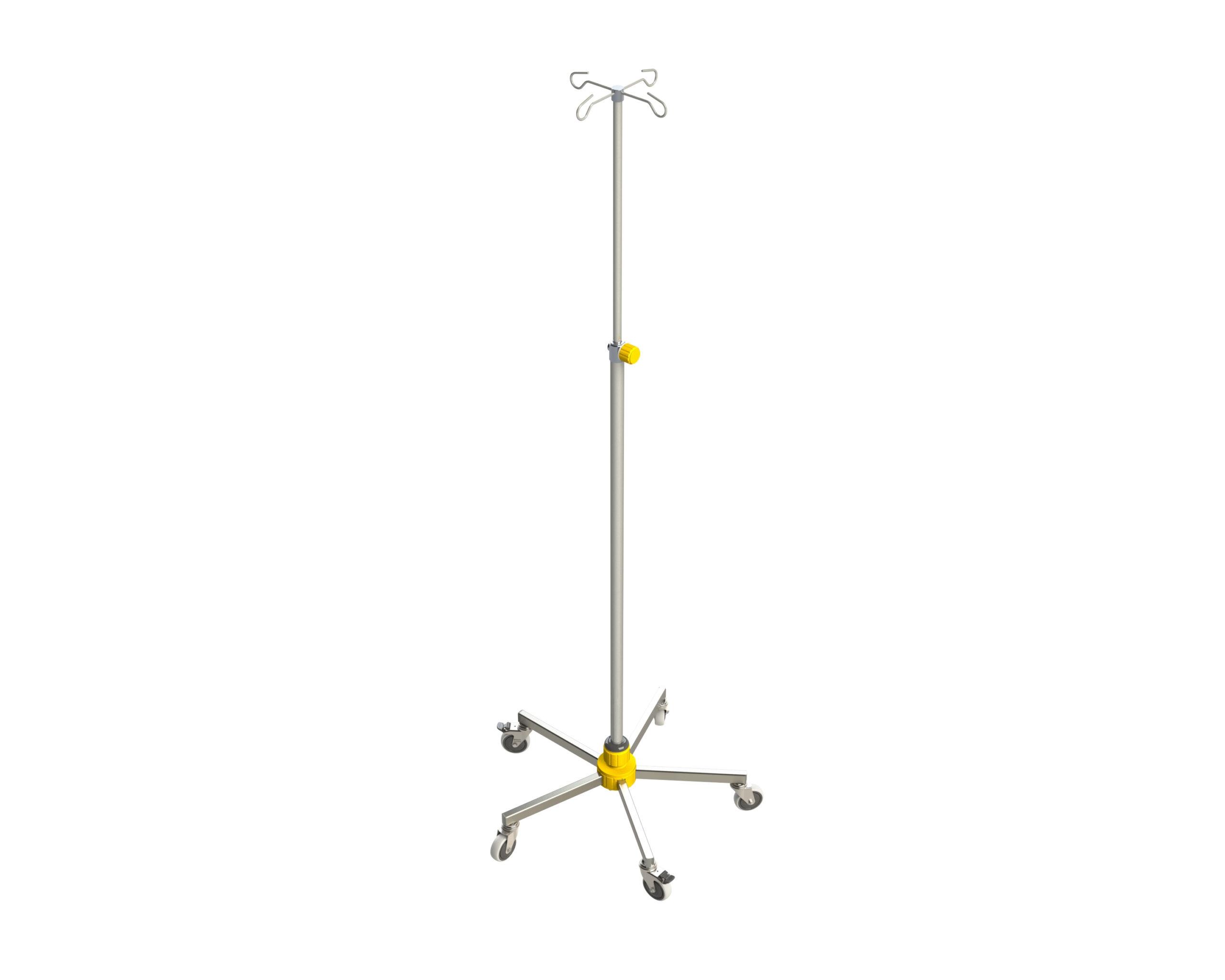 Infusionsstaender-MAMMUT-gelb